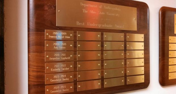 Best Undergraduate Award-- your name could be here!