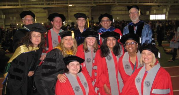 Graduation day for Anthropology PhDs, 2013