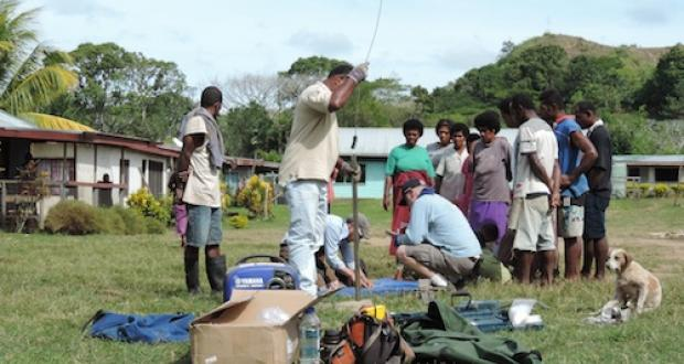 Analyzing prehistoric fire and landscape change in the Fiji Islands