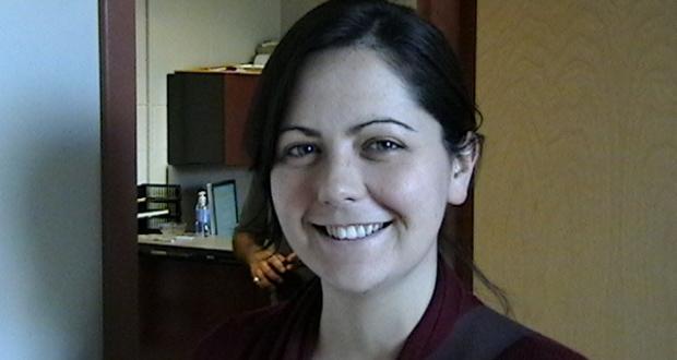 OSU Department of Anthropology Ph.D. student, Sarah Holt