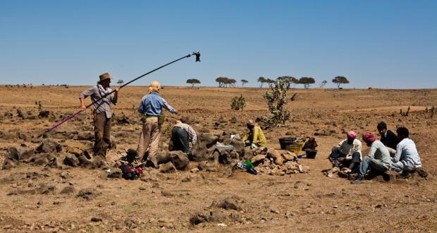 Archaeological survey in Oman