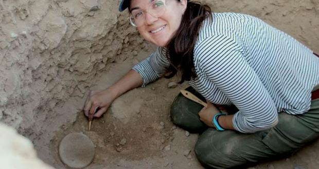 Archaeological excavation in Azerbaijan by PhD student Selin Nugent