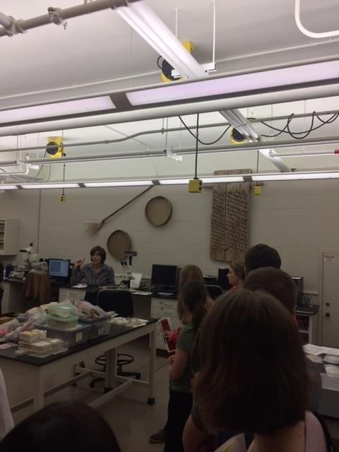 2017 Visit to the Paleobotany Laboratory