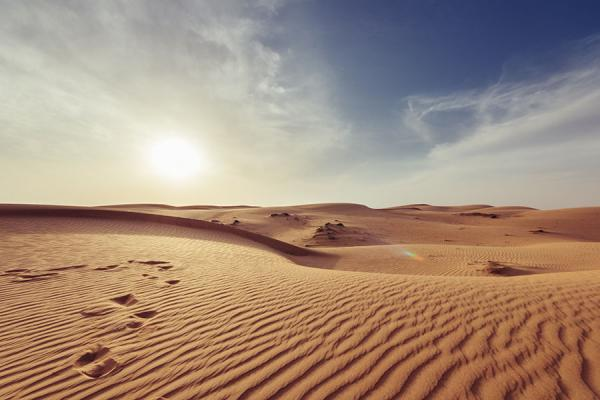 A photo of the Muscat Desert in Oman
