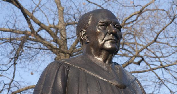 Statue of William Oxley Thompson, main campus
