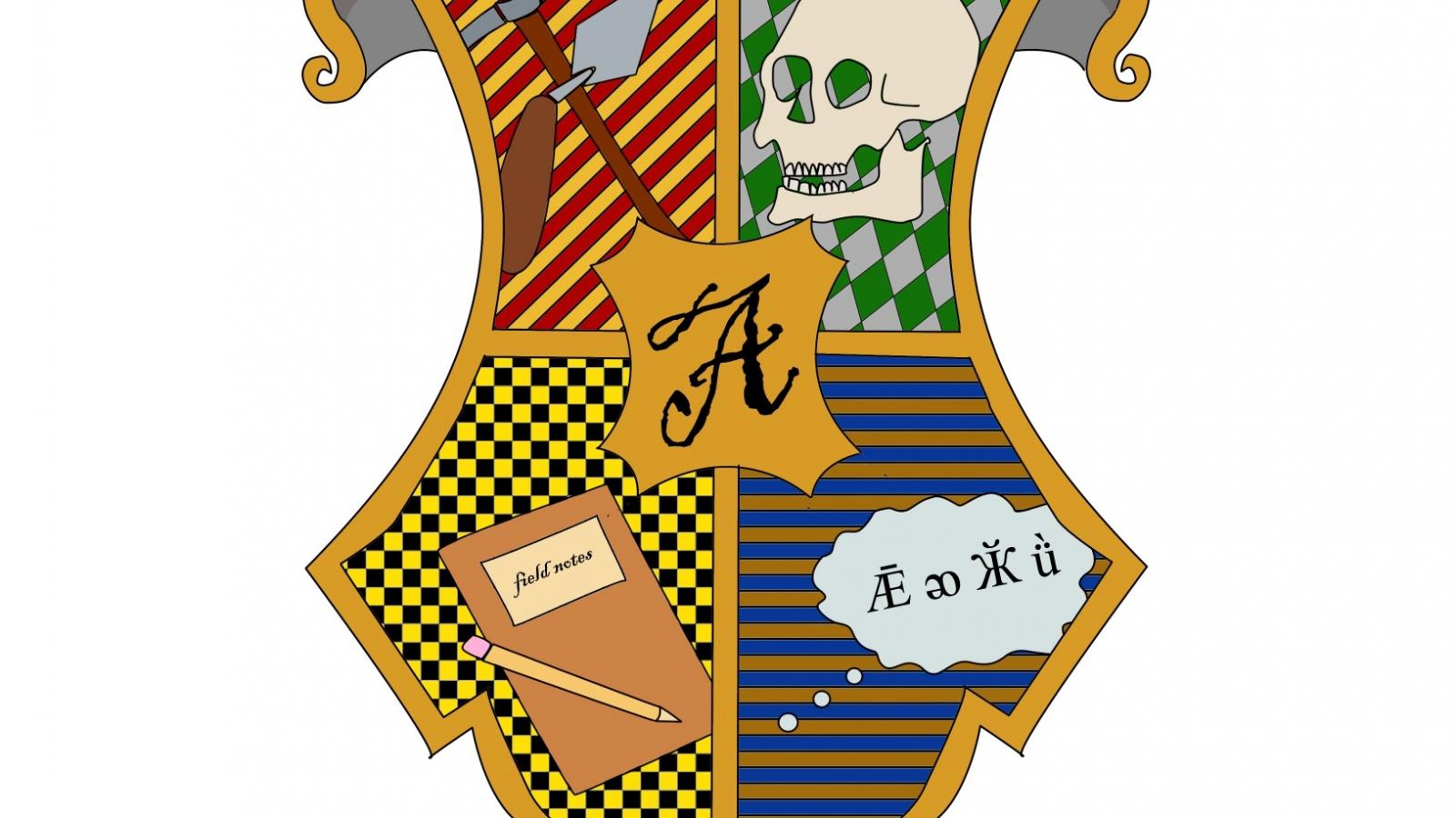 Hogwarts Anthropology Crest Image by Emma Lagan